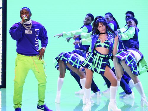 Camila Cabello And DaBaby Bring A Schoolyard Strut To 'My Oh My' On Fallon