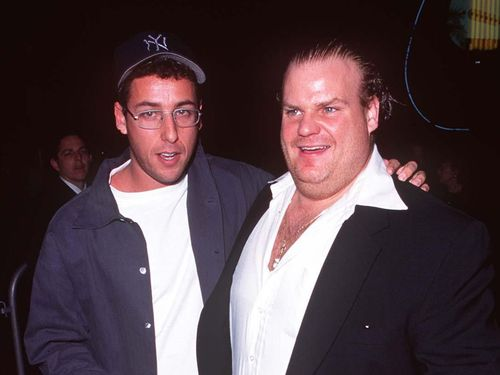 Adam Sandler Says The Reaction To His Chris Farley Tribute Gave Him A 'Big High'