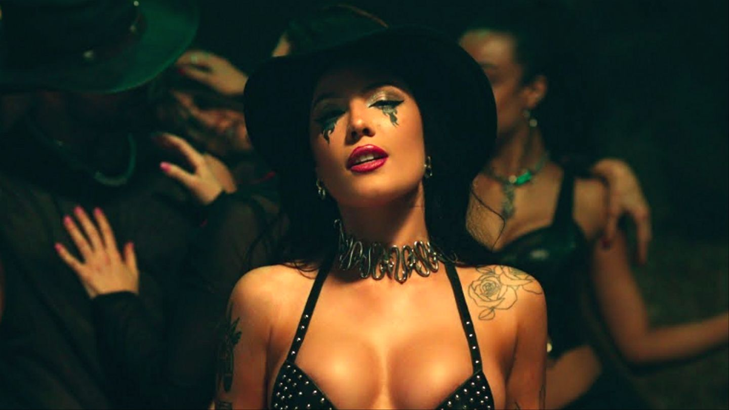 Halsey's 'You Should Be Sad' Video Nods To Shania Twain And 'Dirrty'