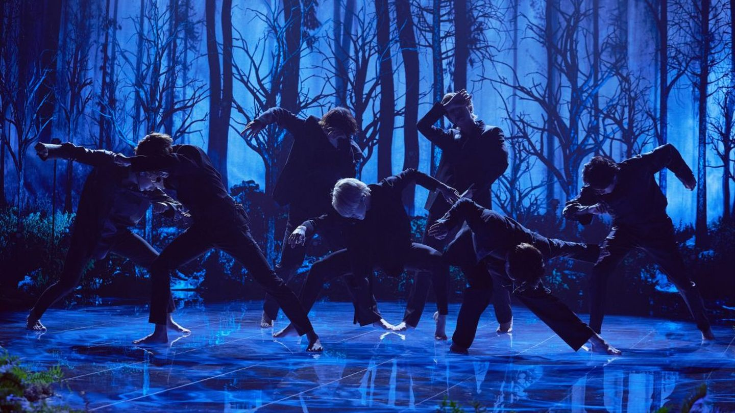 BTS's Live TV Debut Of 'Black Swan' Will Leave You Breathless   MTV