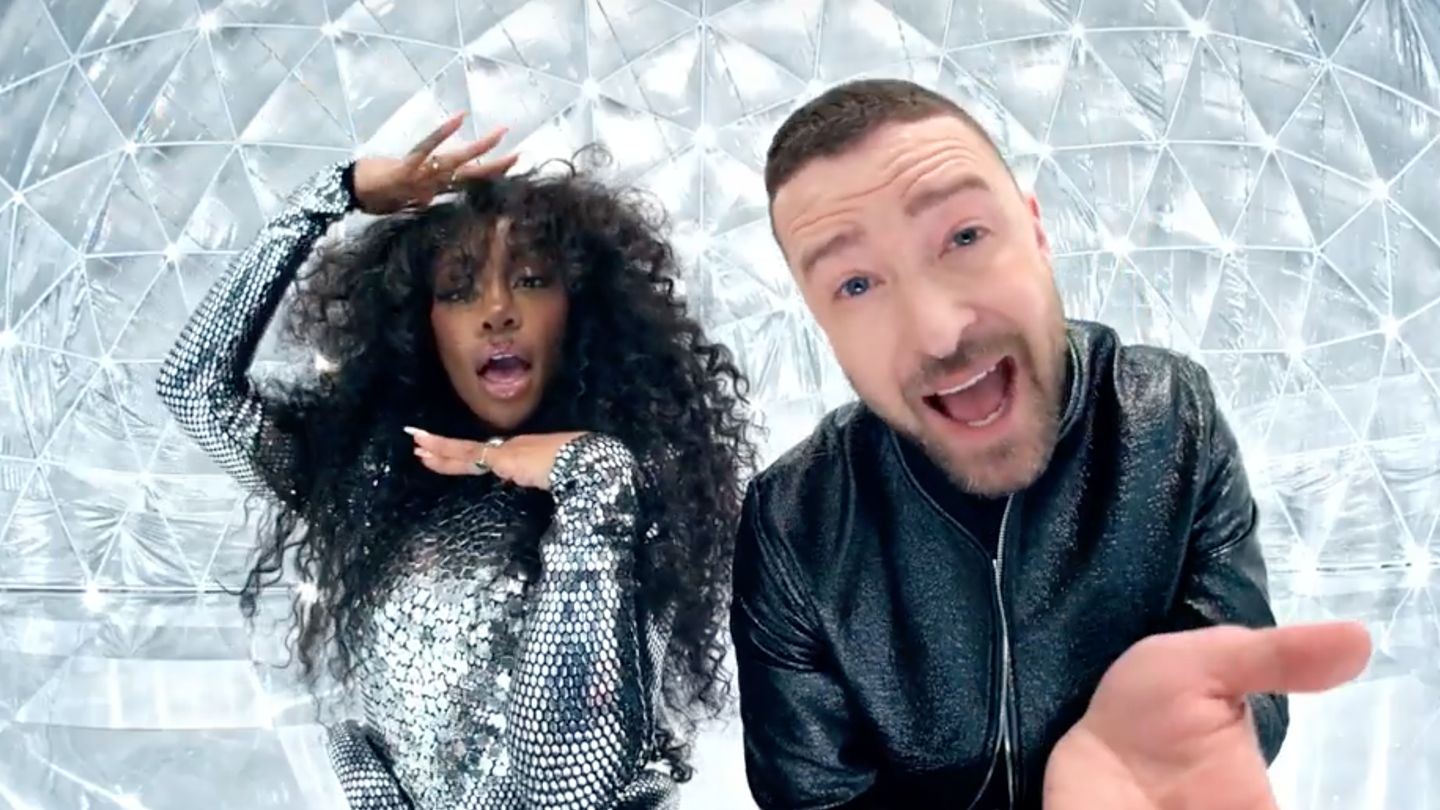 SZA And Justin Timberlake Are Passionate About Platinum In 'The Other Side'