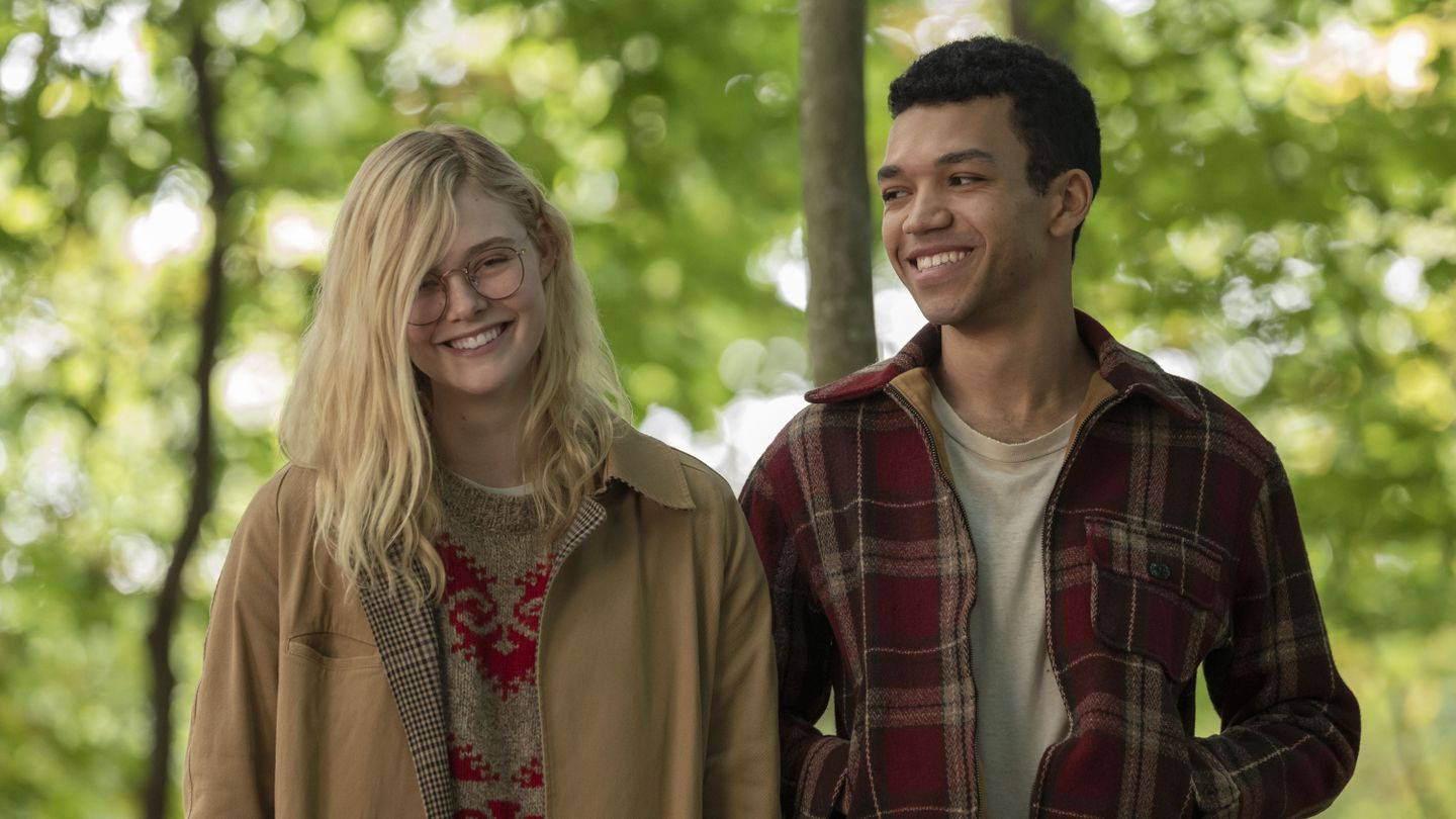 How Elle Fanning And Justice Smith Navigated Teen Mental Health In 'All The Bright Places'