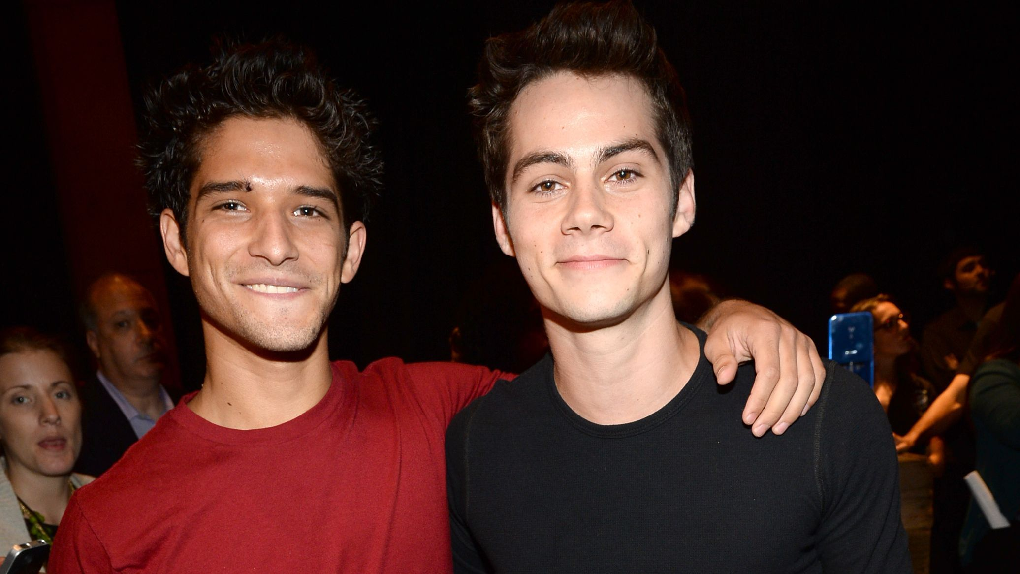 Tyler Posey Talks Hitting On Dylan O Brien And Yes Kissing Is