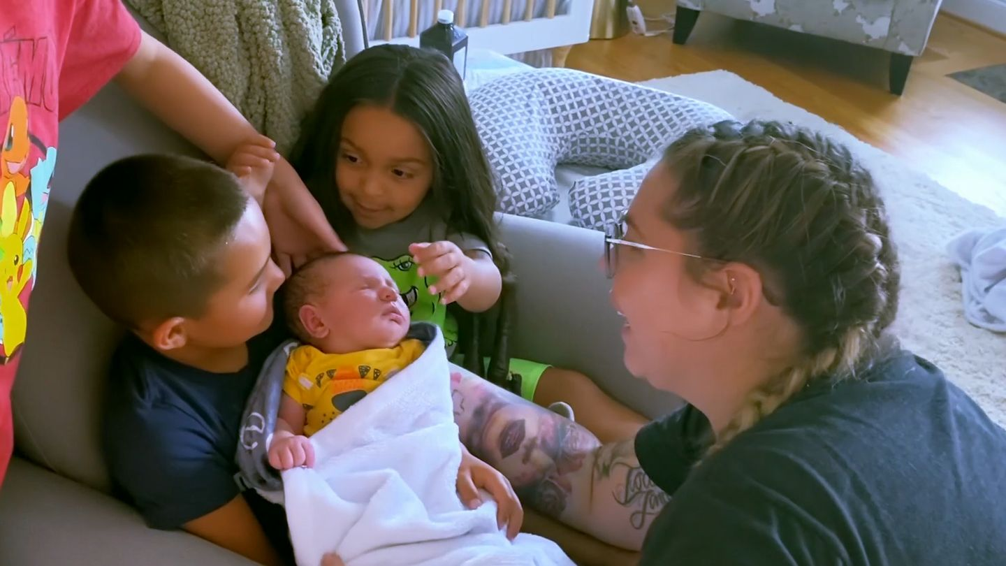 'His Birth Was A Little Scary': How Kailyn's Fourth Teen Mom 2 Delivery Was Like No Other