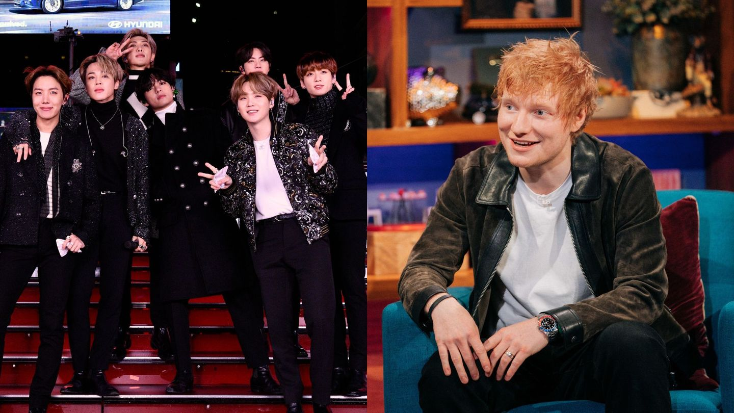 BTS Are Giving You 'Permission To Dance' With New Ed Sheeran Collab thumbnail