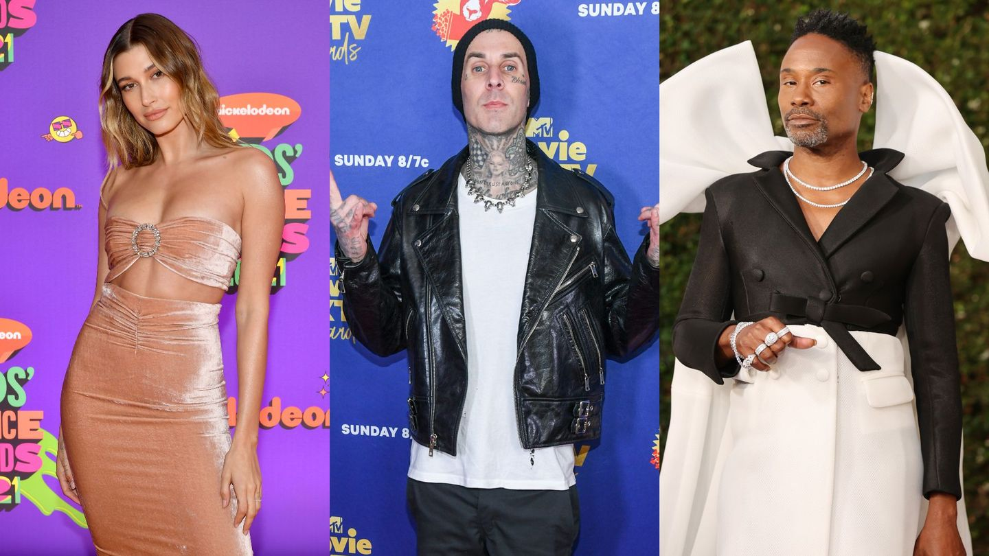 Hailey Bieber, Travis Barker, Billy Porter, And More Will Present At The 2021 VMAs thumbnail