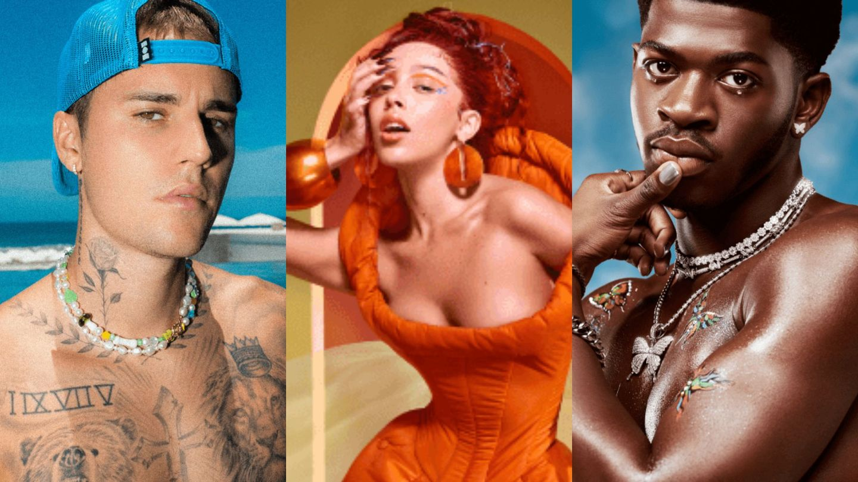 Justin Bieber, Doja Cat, And Lil Nas X Lead 2021 MTV EMA Nominees
