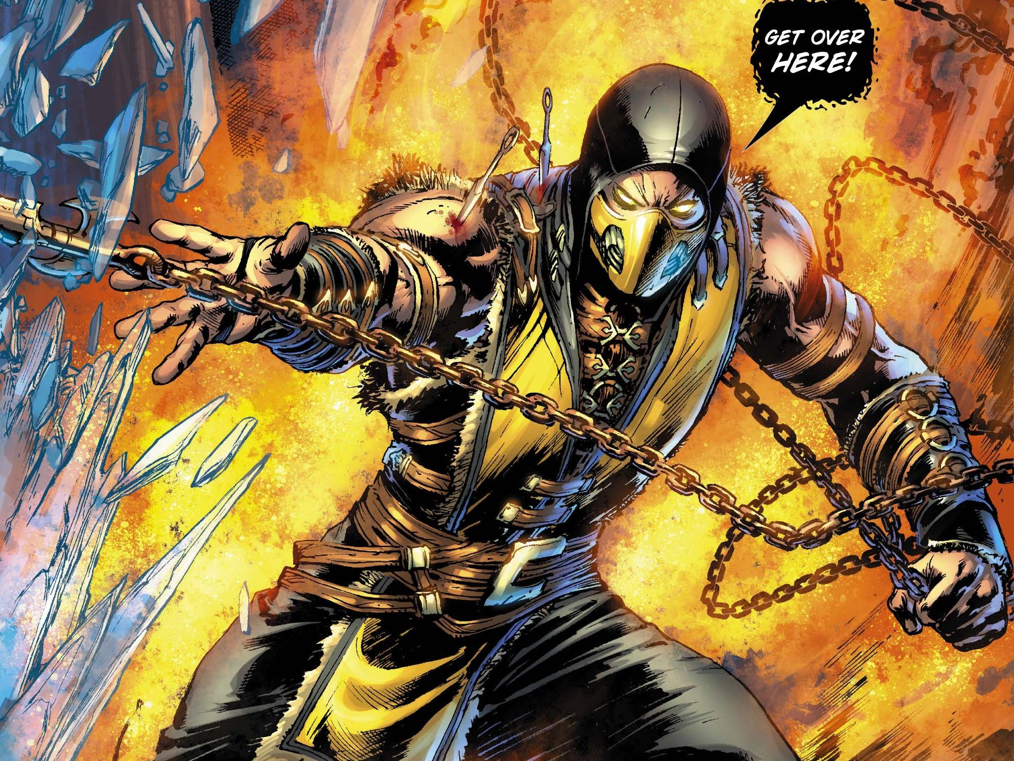 Exclusive: Get Over Here And Read This Preview Of 'Mortal Kombat X #1' - MTV
