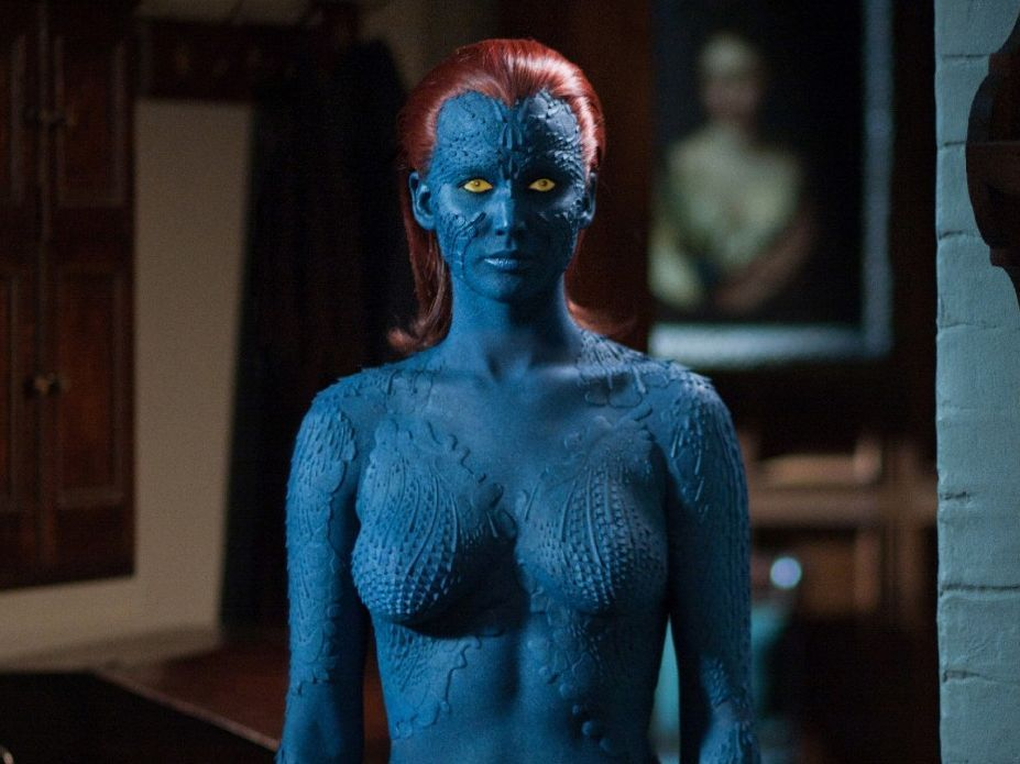 Jennifer Lawrence On Being Half Naked During X Men Days Of Future Past Mtv
