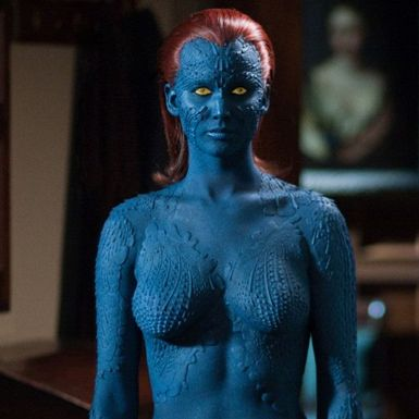 Jennifer Lawrence On Being Half Naked During X Men Days Of Future Past