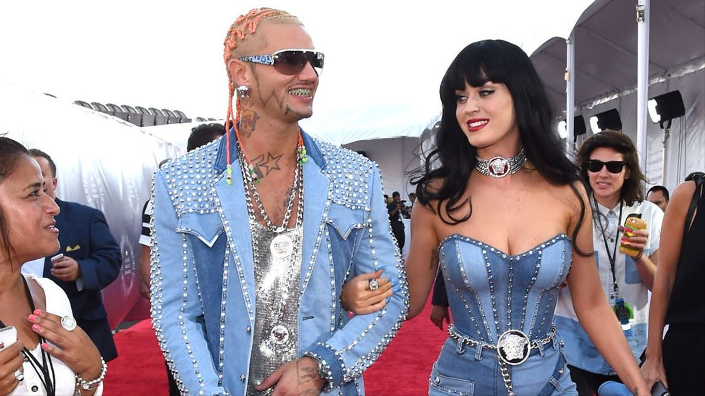 Katy Perry And Riff Raff Recreate Britney And Justin S Iconic Double Denim Mtv