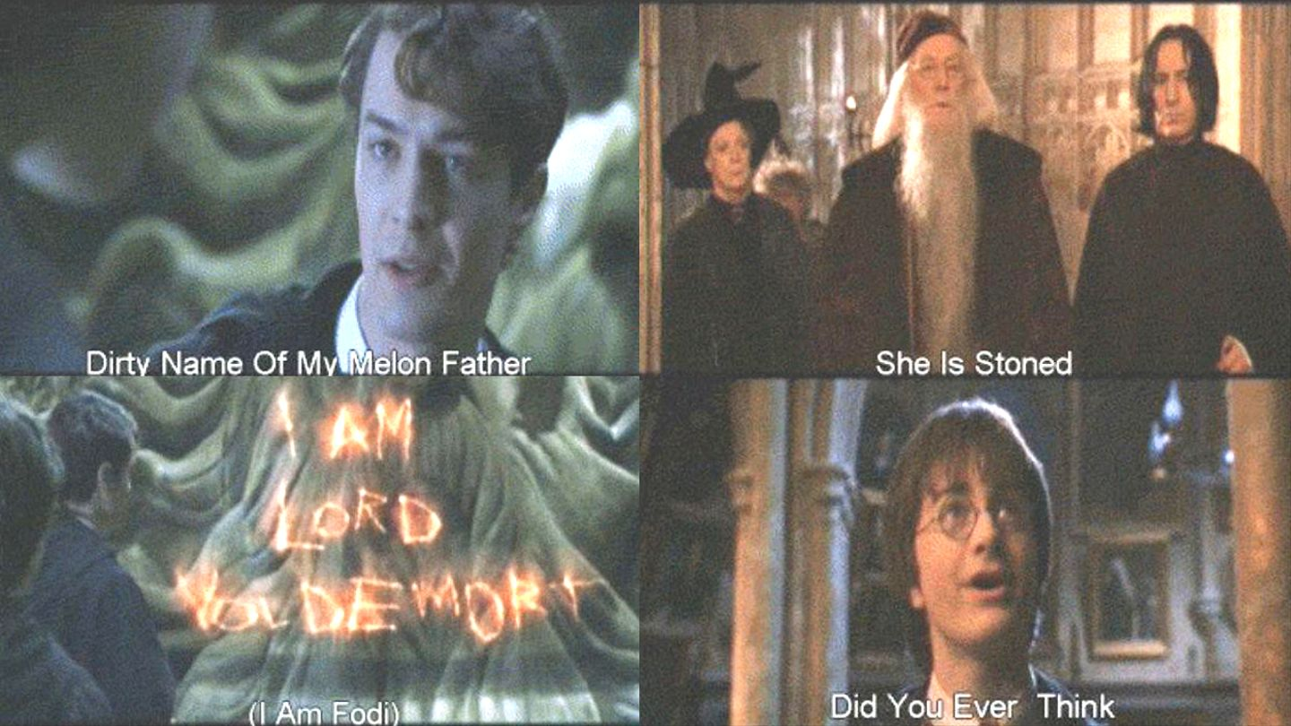 These Bootleg Chinese Subtitles For 'Harry Potter' Movies Are Absolutely Hilarious