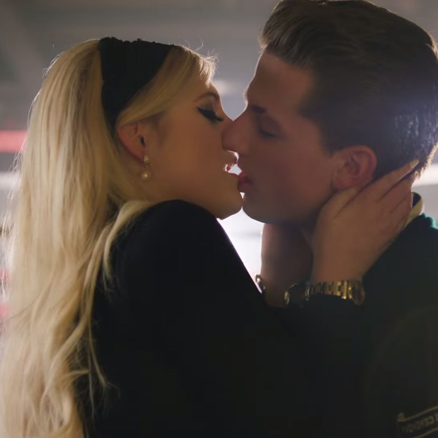 meghan trainor is a 'very good kisser,' according to charlie puth - mtv