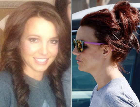 Brittany spears redhead