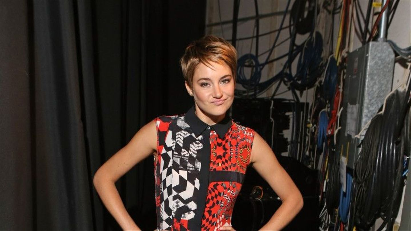 Shailene Woodley Had The Most Important Haircut Of 2014 - MTV