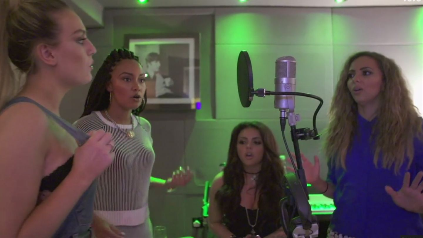Little Mix Preview New Song With Jess Glynne: Watch Now