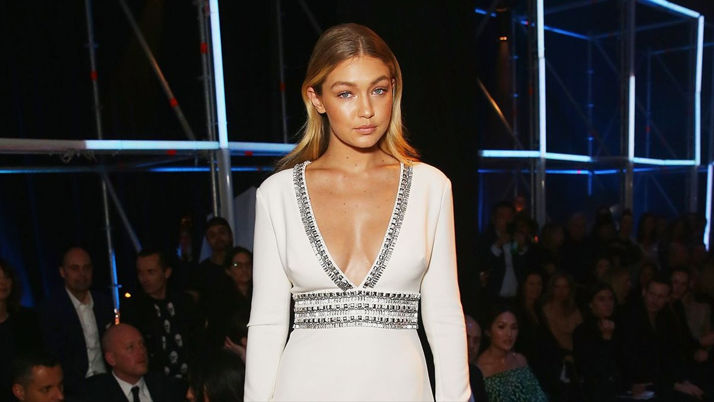 Gigi Hadid Is The Latest To Join In On The Pastel Hair Trend