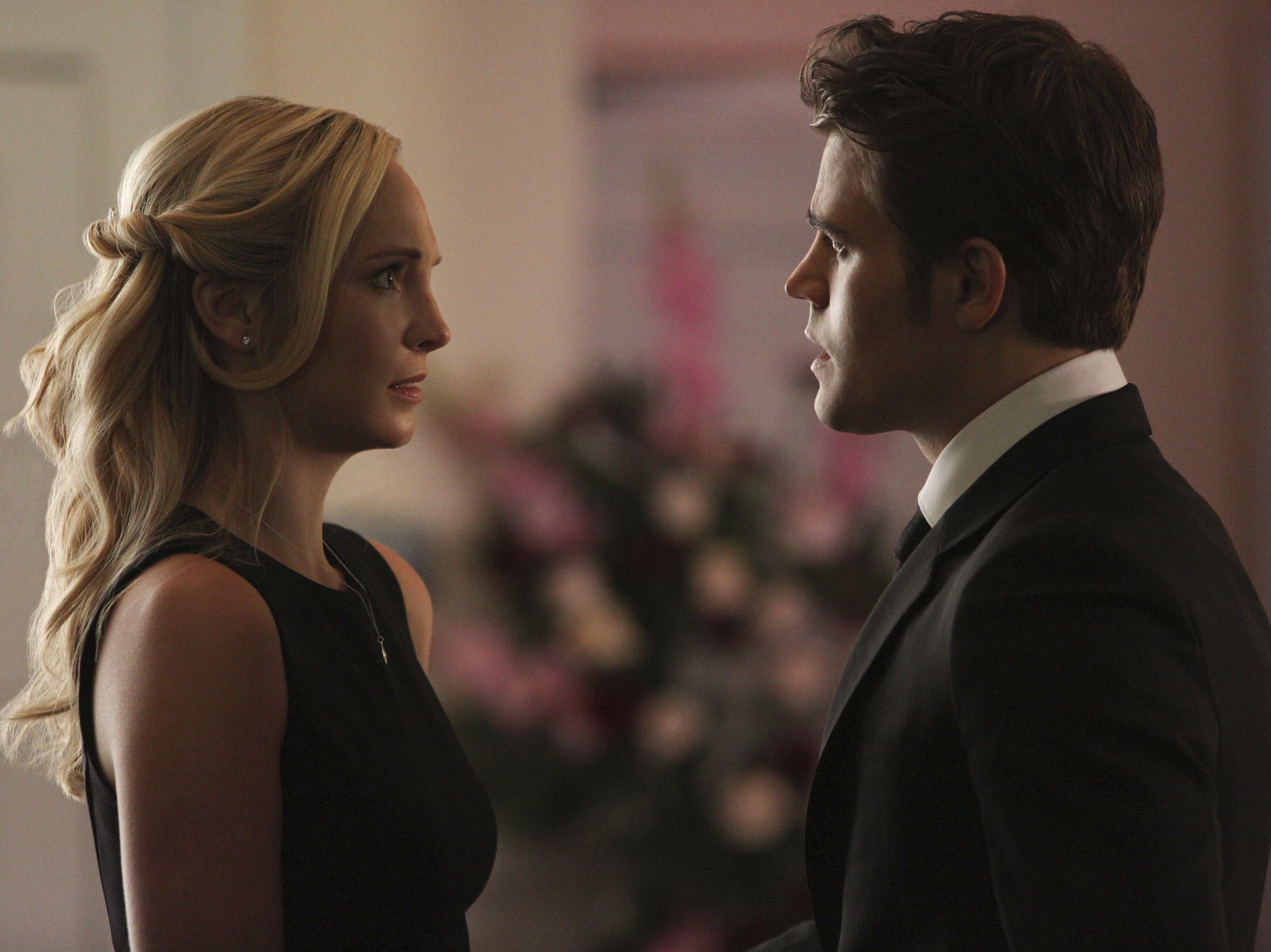 Science Totally Supports Caroline And Stefan From The Vampire Diaries Just Like You Mtv