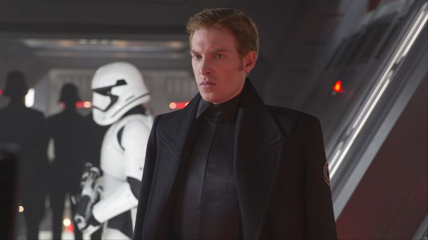 'Star Wars': Domhnall Gleeson Defends The First Order