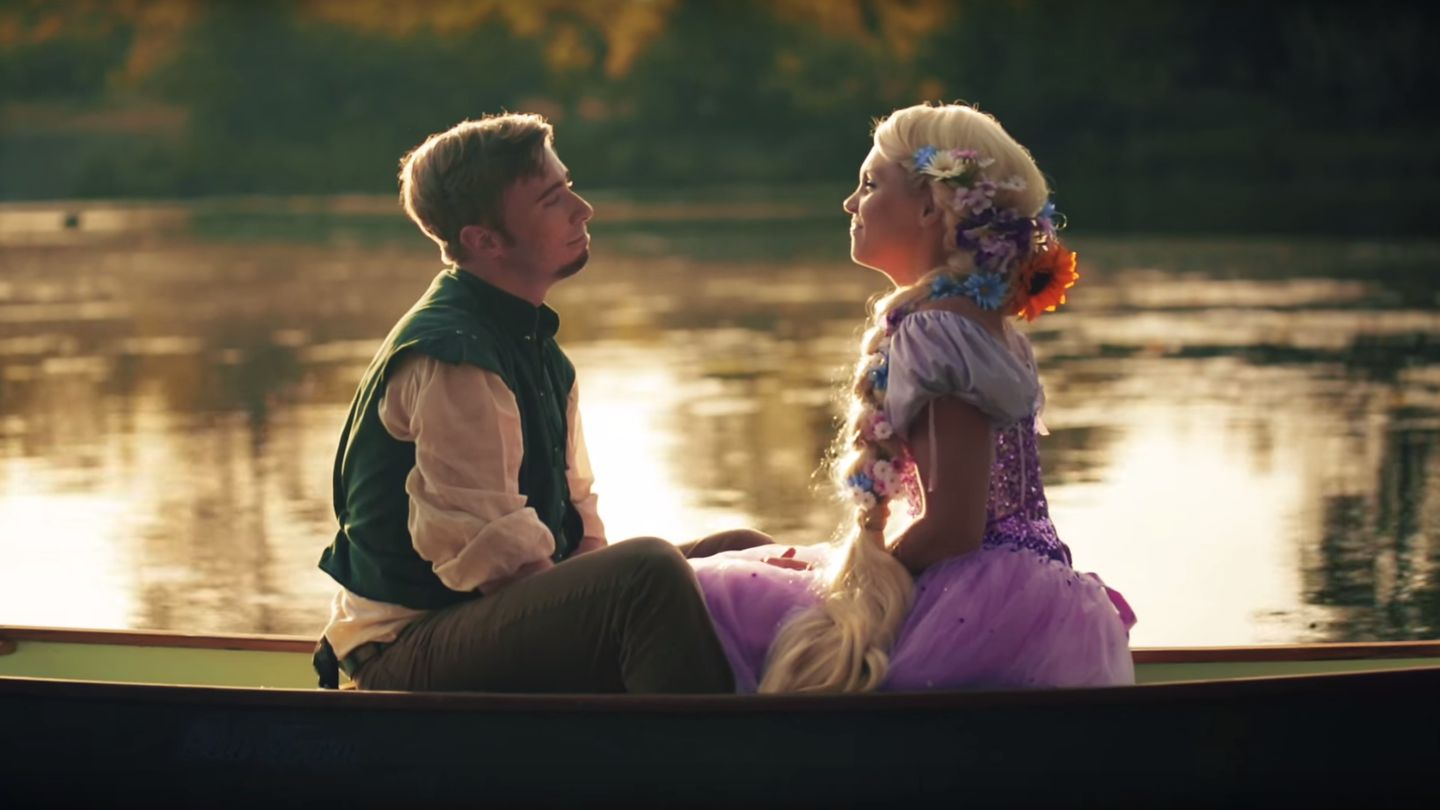 This 'Tangled' IRL Couple Prove Rapunzel And Flynn Rider ...