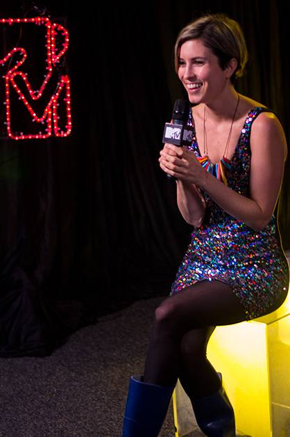 Missy Higgins stopped by the MTV tent on day three of 'Splendour in the Grass 2012' at Belongil Fields, Byrong Bay - 29 July, 2012.