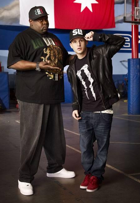Big Black and Rob.