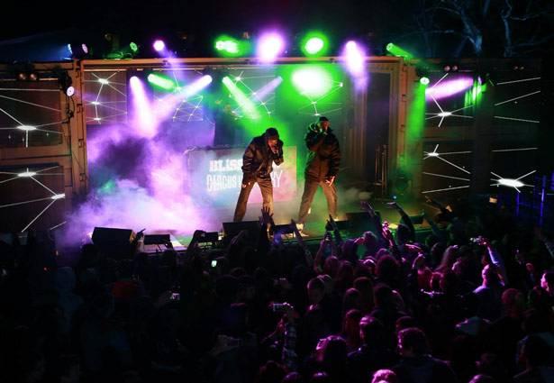 MTV Winter House Party: Bathurst - Bliss N Eso.