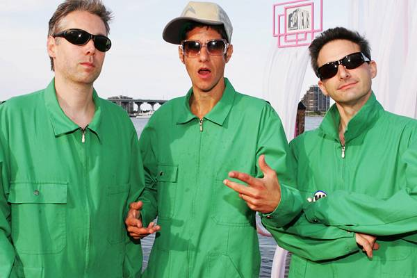 MCA and the Beastie Boys arrive at the 2004 MTV Video Music Awards in Miami