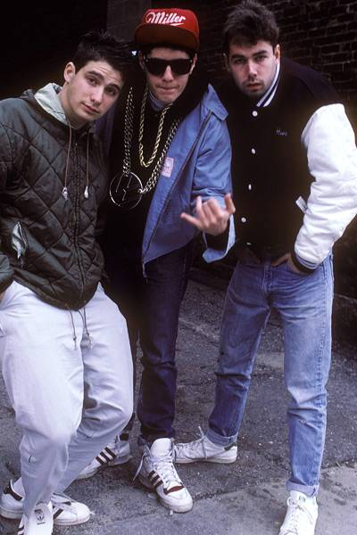 MCA with the Beastie Boys in 1987