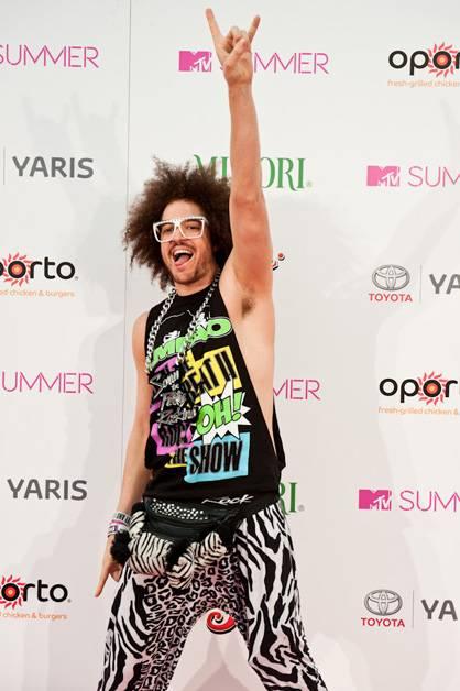 Redfoo arrives at MTV Summer 2011.