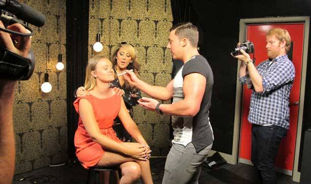 #GEORDIESONTOUR giving Steph from MCM a Geordie makeover!