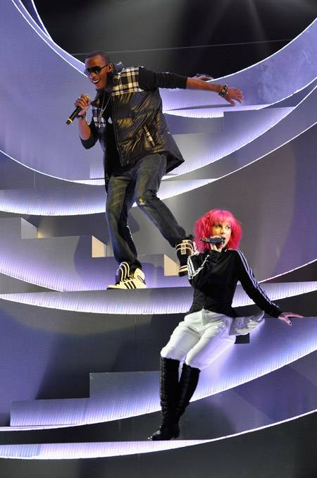 B.O.B. and Hayley Willaims.