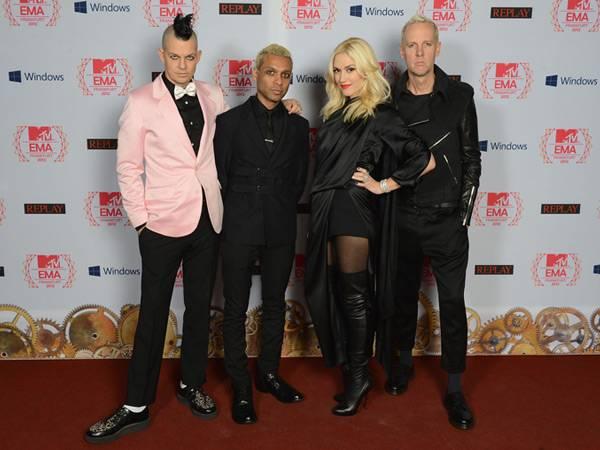 No Doubt @ the '2012 MTV EMA' Red Carpet