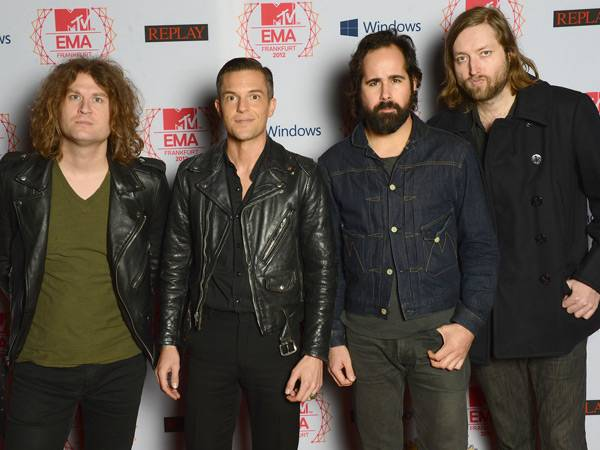 The Killers @ the '2012 MTV EMA' Red Carpet