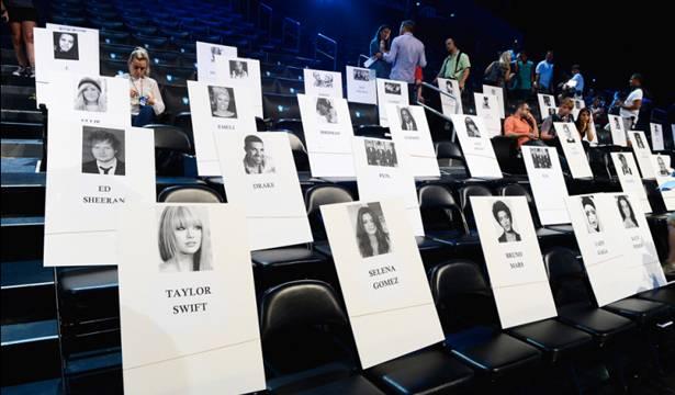 Seating VMAs 2013