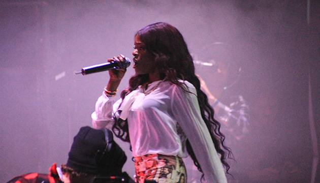 Azealia Banks performing her first ever Australian show at day three of 'Splendour in the Grass' at Belongil Fields, Byron Bay - 29 July, 2012.