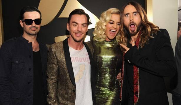 30 Seconds To Mars and Rita Ora