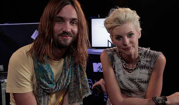 Tame Impala @ Big Day Out 2014 with MTV VJ Kate Peck
