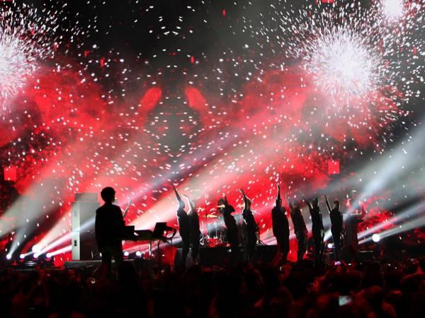 fun. Perform @ The '2012 MTV EMA' in Frankfurt!