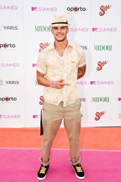 Nacho Pop arrives at MTV Summer 2011.