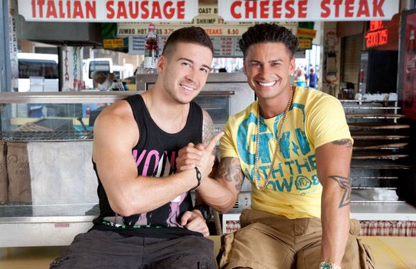 Vinny and Pauly D.