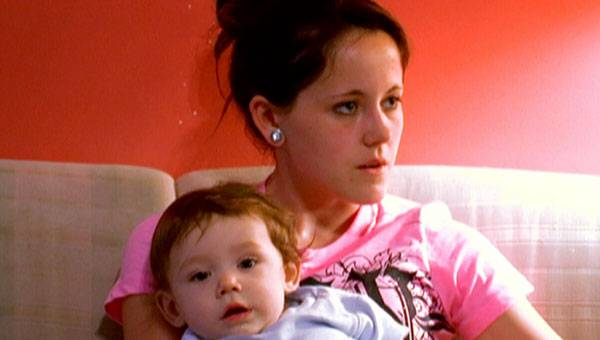 Janelle and baby Jace.