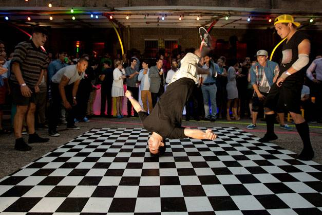 The Break Dancers get down at MTV Summer 2011.