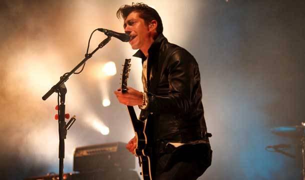 Falls Festival: Alex Turner of Arctic Monkeys