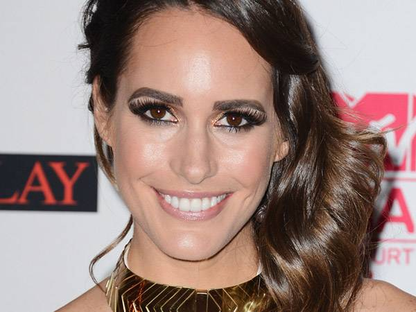 Louise Roe @ the '2012 MTV EMA' Red Carpet