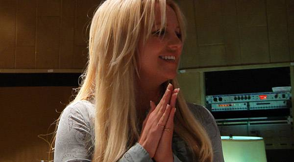 Britney loves the track!