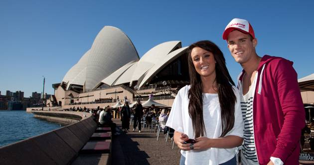Charlotte and Gaz at the Opera House!