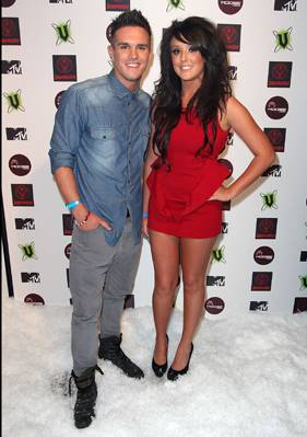 'Geordie Shore's Gaz and Charlotte ready to rumble at MTV Snow Jam 2011.