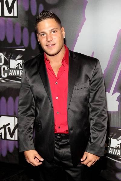 Jersey Shore's big man Ronni at the 2011 MTV Video Music Awards.