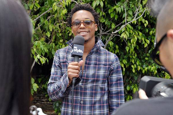 Lupe Fiasco is interviewed behind the scenes at the 2011 MTV Movie Awards.